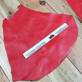 RED LEATHER PIECES 1743