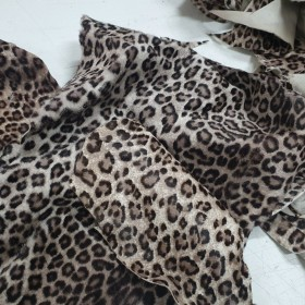 HAIR PIECES ANIMAL PRINT 2465
