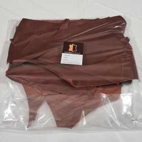 ASSORTED LEATHER PIECES 1756