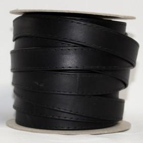 BLACK LEATHER  15 mm