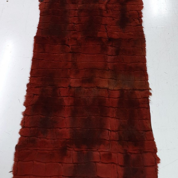 HAIR RABBIT PLATE 2156